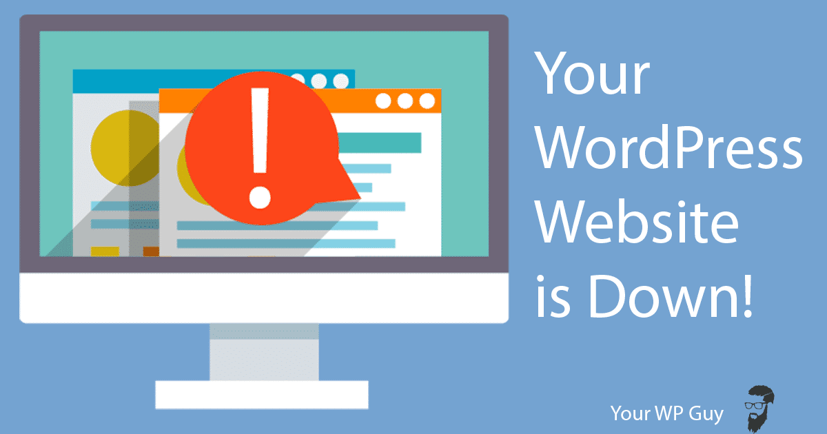 Your WordPress Website is Down! 19 Steps to Quickly Fix Your 503