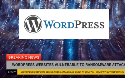 WordPress Ransomware Found in Attacks on WordPress Websites