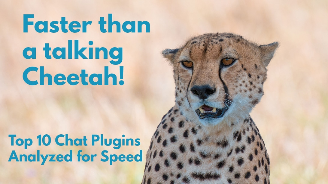 Speed Testing the 10 Best WordPress Chat Plugins